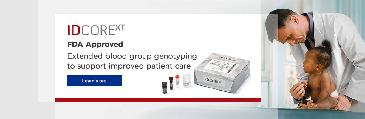 Extended blood group genotyping to support improved patient care
